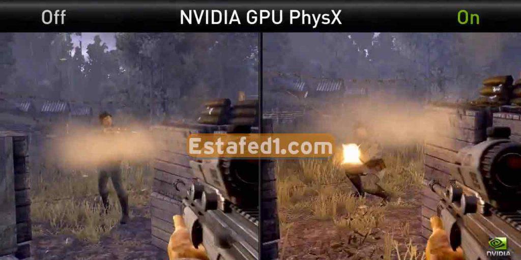 nvidia physics