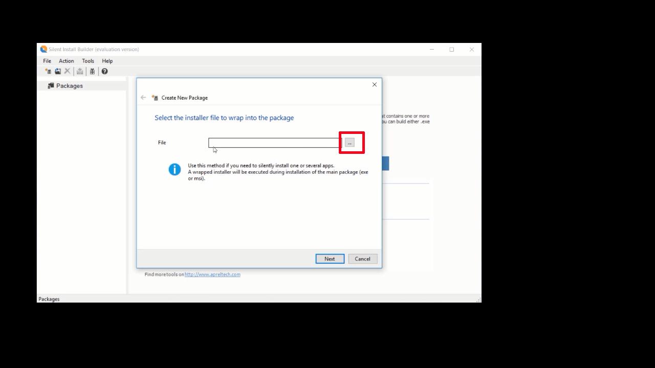 برنامج silent install builder دمج البرامج في ملف واحد وتثبيتها دفعة واحدة