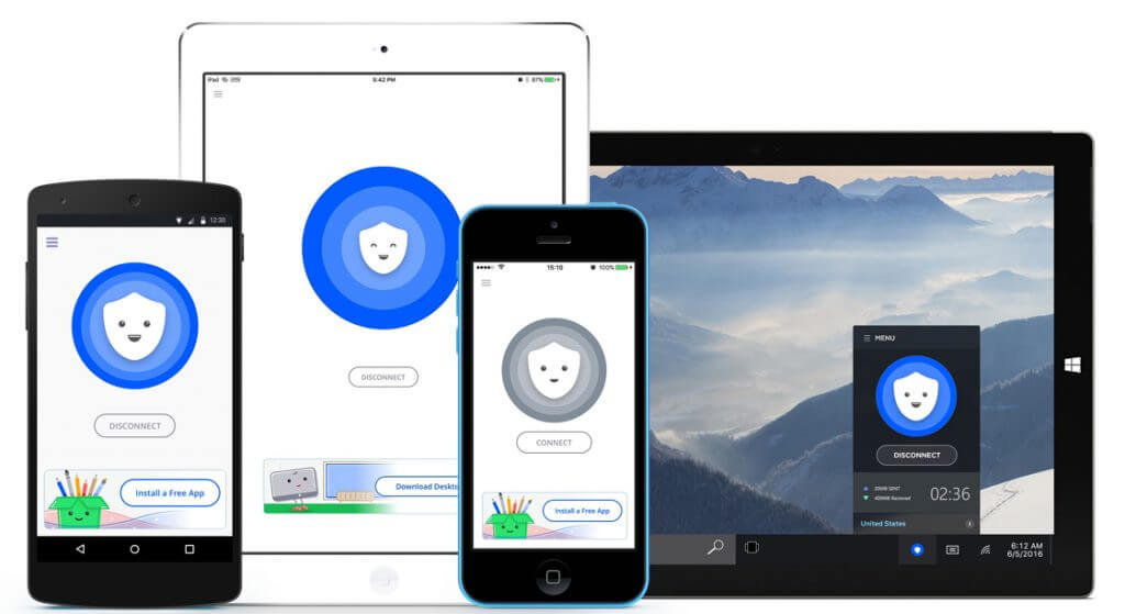 betternet-devices افضل برنامج vpn