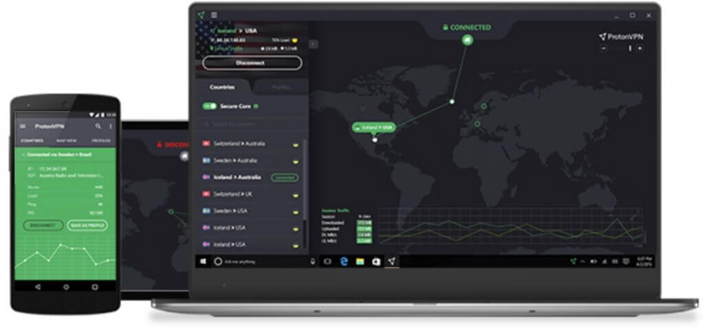 protonvpn-devices-افضل برنامج vpn