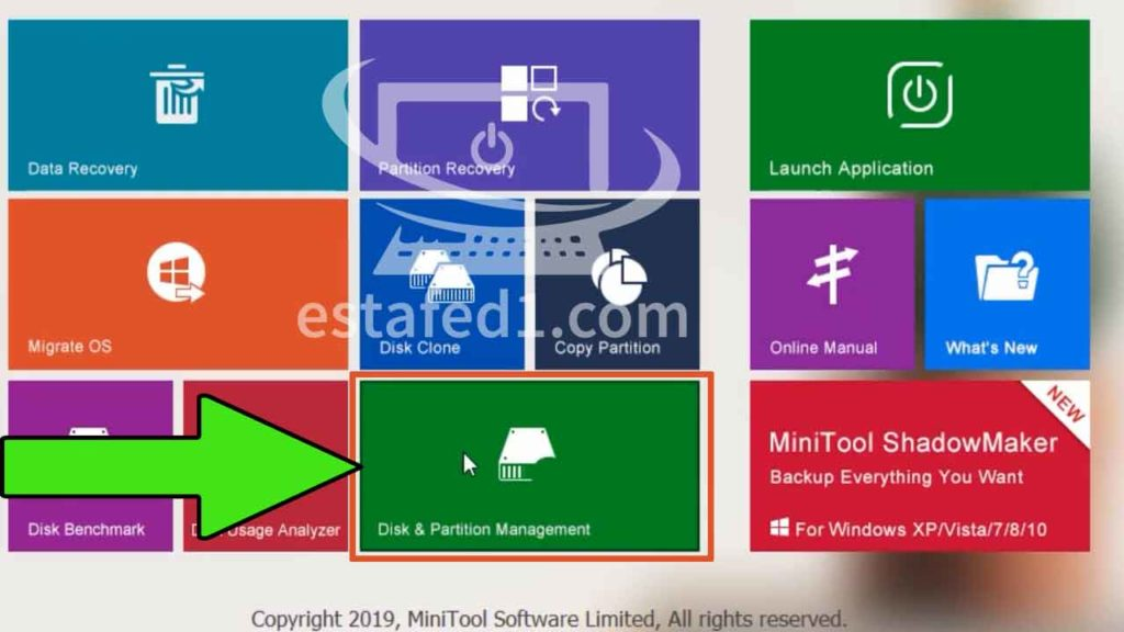 برنامج mimitool partition wizard