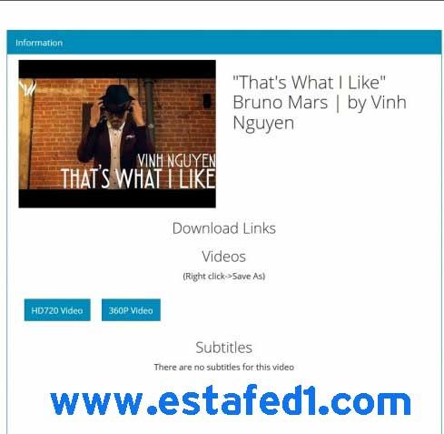 تحميل مقاطع الفيديو مع اليوتيوب من اليوتيوب