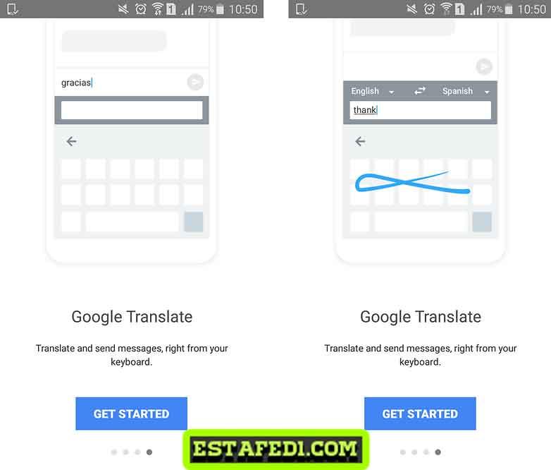 تطبيق لترجمة الرسائل