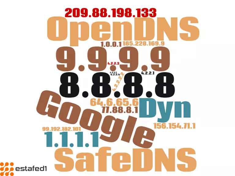 أشهر خوادم DNS المجانية والعامة