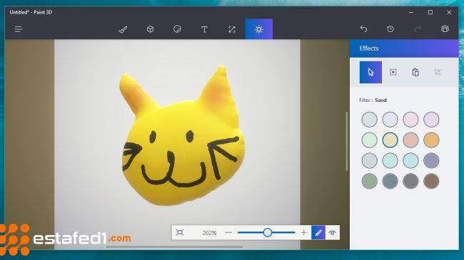 برنامج الرسام Microsoft Paint 3D 2019