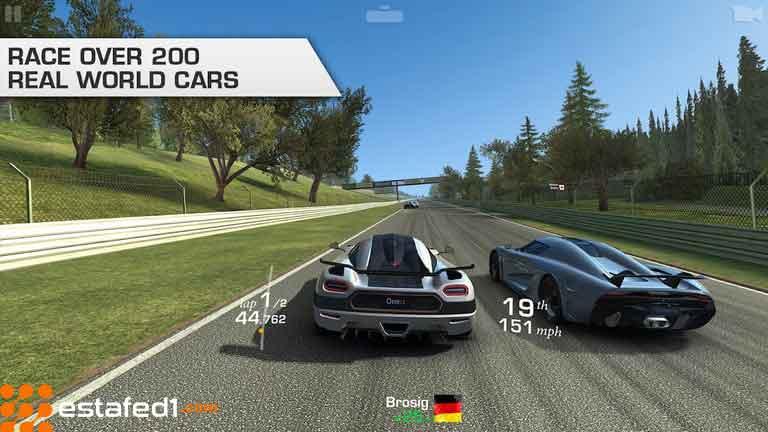 العاب اندرويد مجانية real racing 3