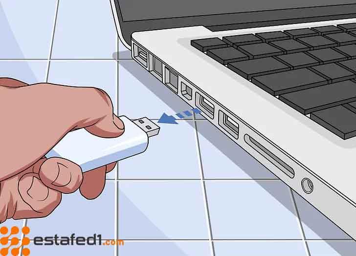 توصيل الفلاشة بالكمبيوتر المقيد وتجربة تصفح بدون أي قيود
