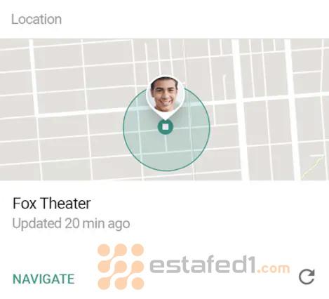 تحديد الموقع الجغرافي لطفلك google family link