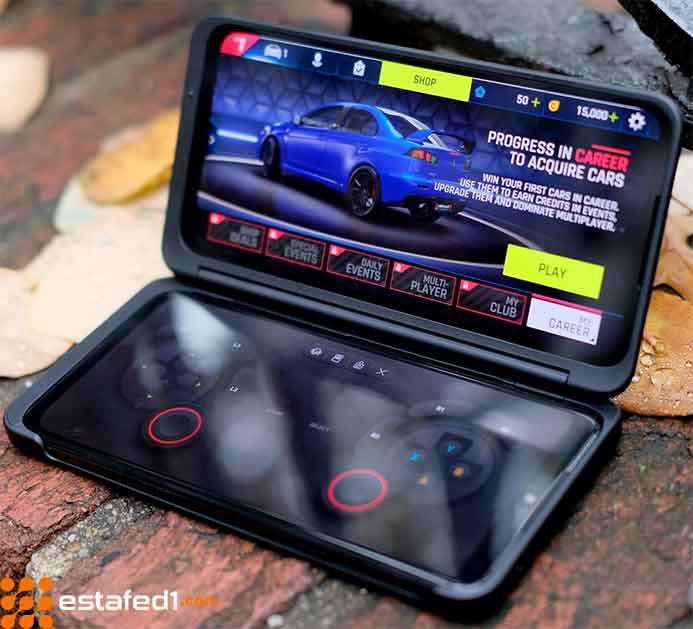 أفضل هواتف الألعاب lg g8x thinq