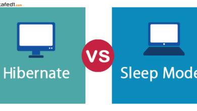 الفرق-بين-hibernate-و-sleep-إغلاق-الويندوز