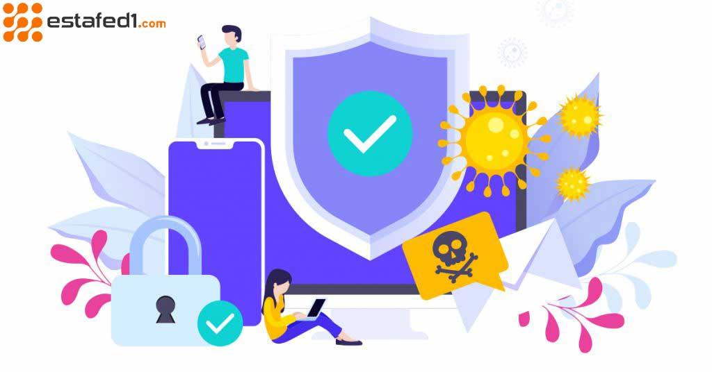 الفرق بين مضاد الفيروسات والجدار الناري وانترنت سكيورتي