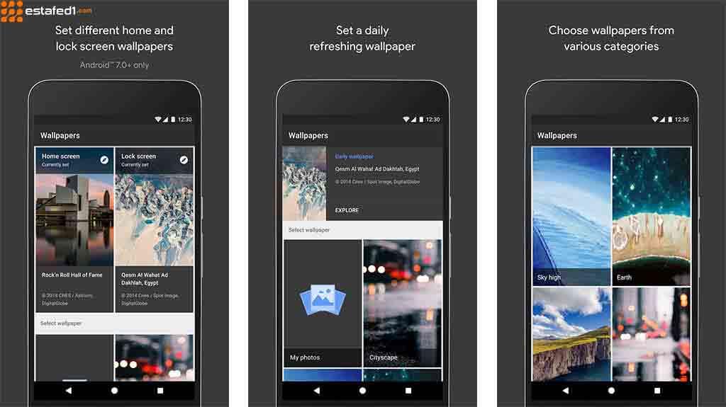 تطبيقات خلفيات للأندرويد خلفيات جوجل