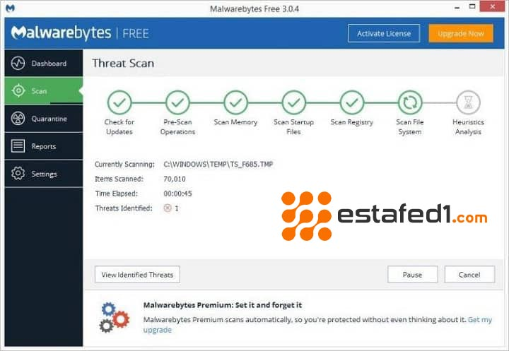 مضاد الفيروسات Malwarebytes