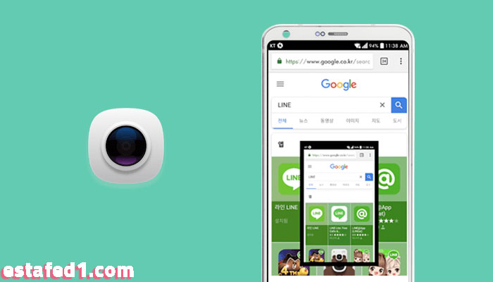 تطبيق screenshot touch أخذ لقطة شاشة screenshot للاندرويد