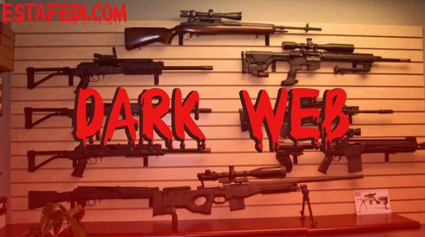 مخاطر الديب ويب والانترنت المظلم  مواقع تجارة السلاح
