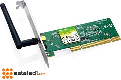 توصيل الواي فاي بالكمبيوتر من خلال كرت واي فاي داخلي internal WiFi card