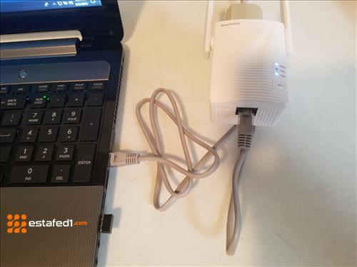 توصيل الواي فاي بالكمبيوتر من خلال محول شبكات Ethernet WiFi adapter