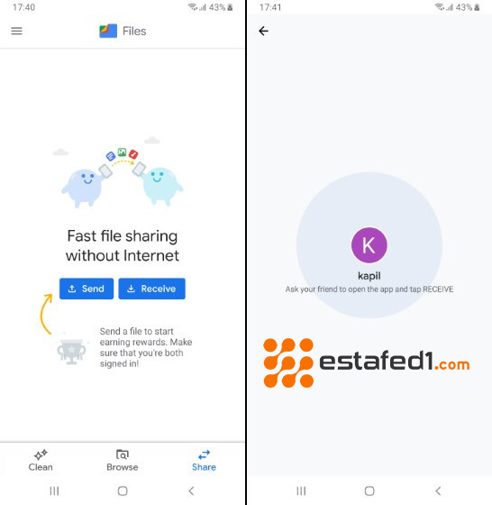 5. بدائل SHAREit | تطبيق Files by Google