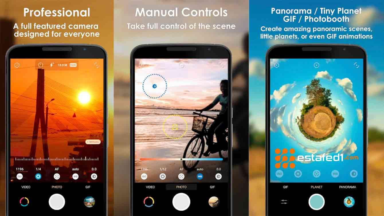 أفضل تطبيقات الكاميرا للاندرويد تطبيق Pixtica