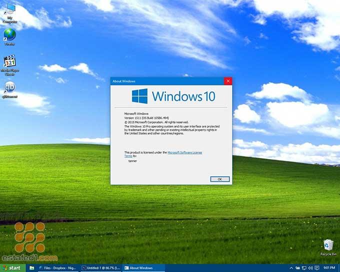 أفضل ثيمات ويندوز 10 Windows XP