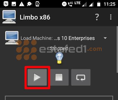 تنصيب ويندوز 7 على الاندرويد- بدء عملية التثبيت علي هاتفك