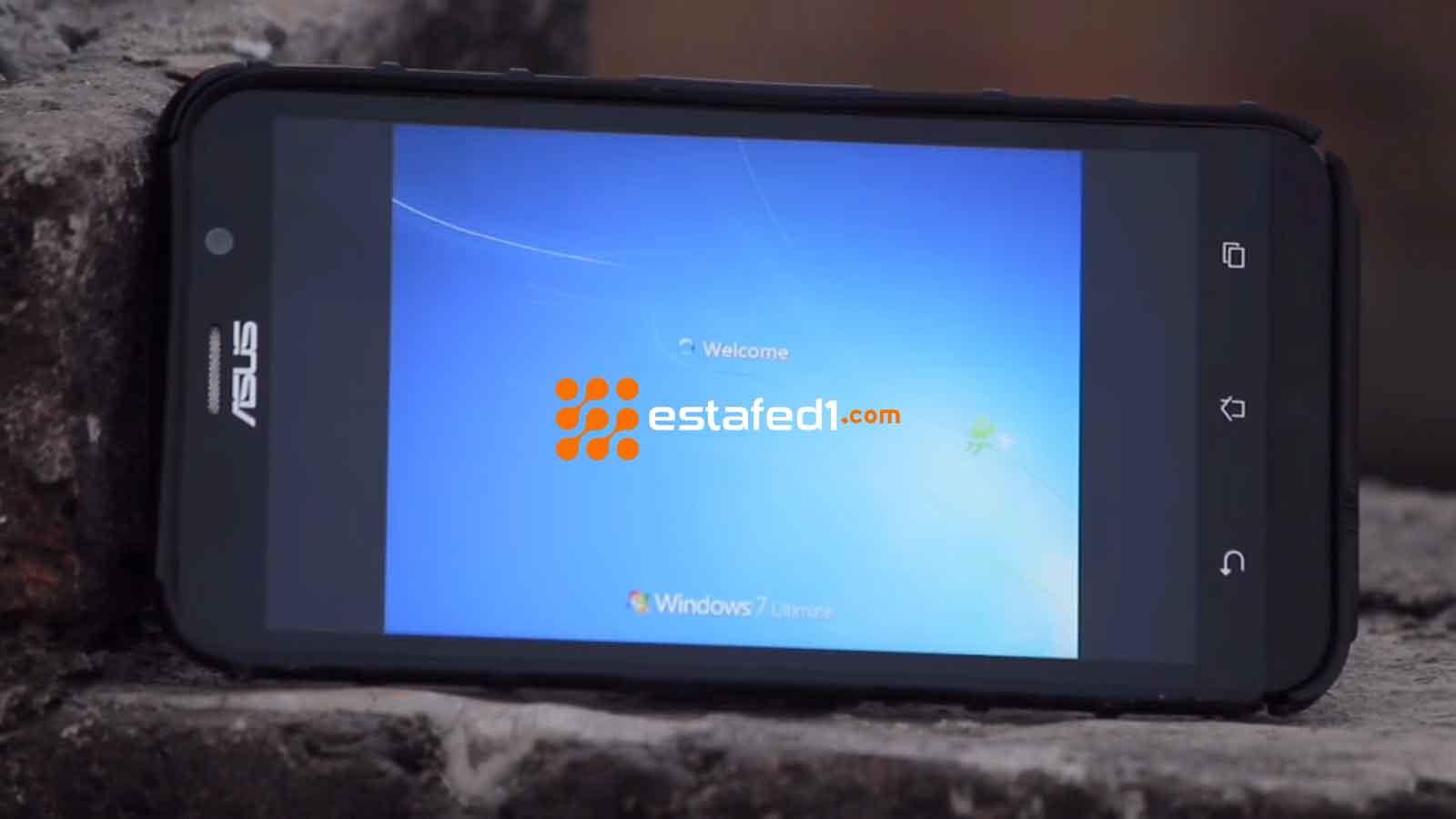 تنصيب ويندوز 7 على الاندرويد- نظام التشغيل ويندوز 7 على هاتفك
