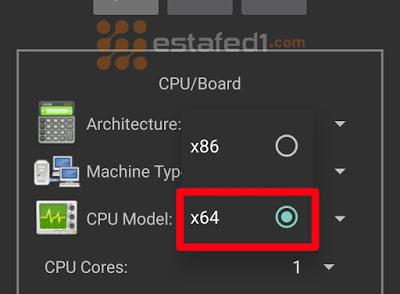 تنصيب ويندوز 7 على الاندرويد- x64