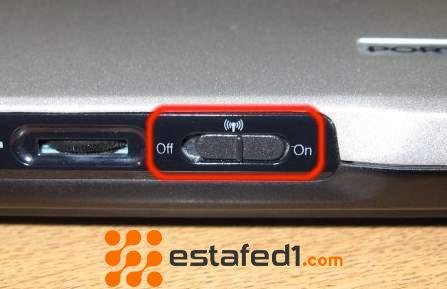 زر مفتاح الواي فاي تشغيل الواي فاي في الكمبيوتر ويندوز 7