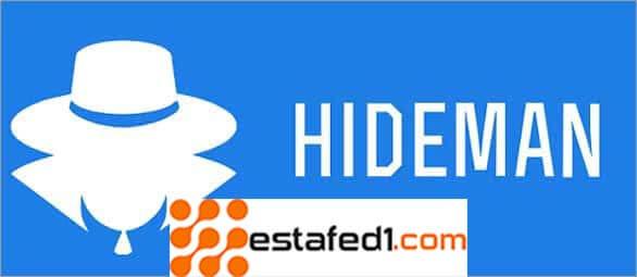تطبيق VPN hideman