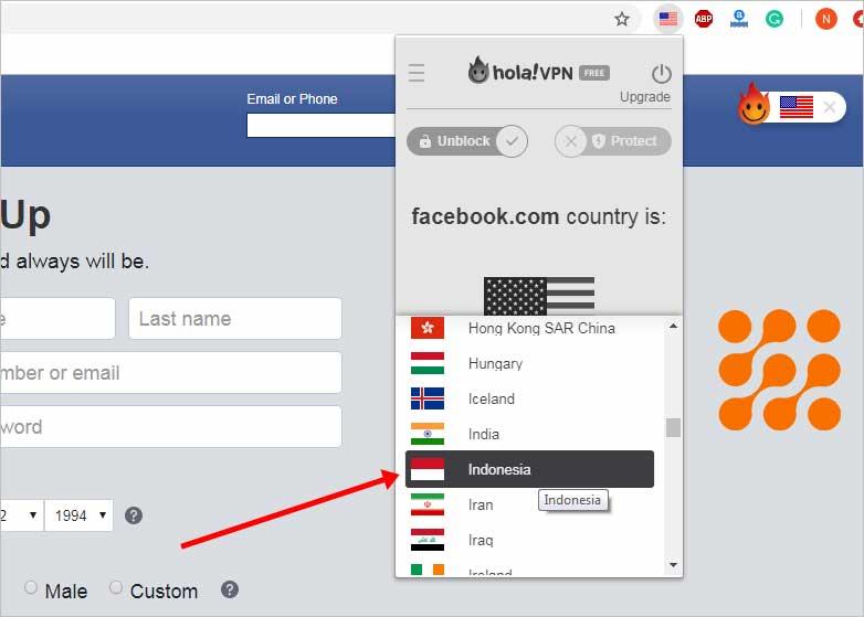طريقة تغيير اسم الفيس بوك باسم واحد تغيير البروكسي