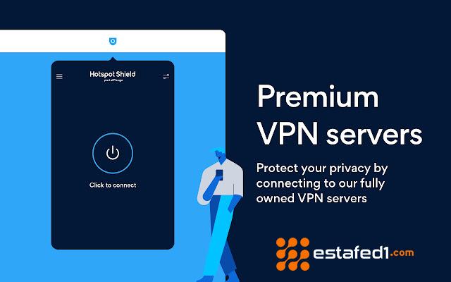 1. افضل vpn للكمبيوتر - Hotspot Shield Free VPN