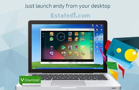 اخف محاكي اندرويد للكمبيوتر Andy