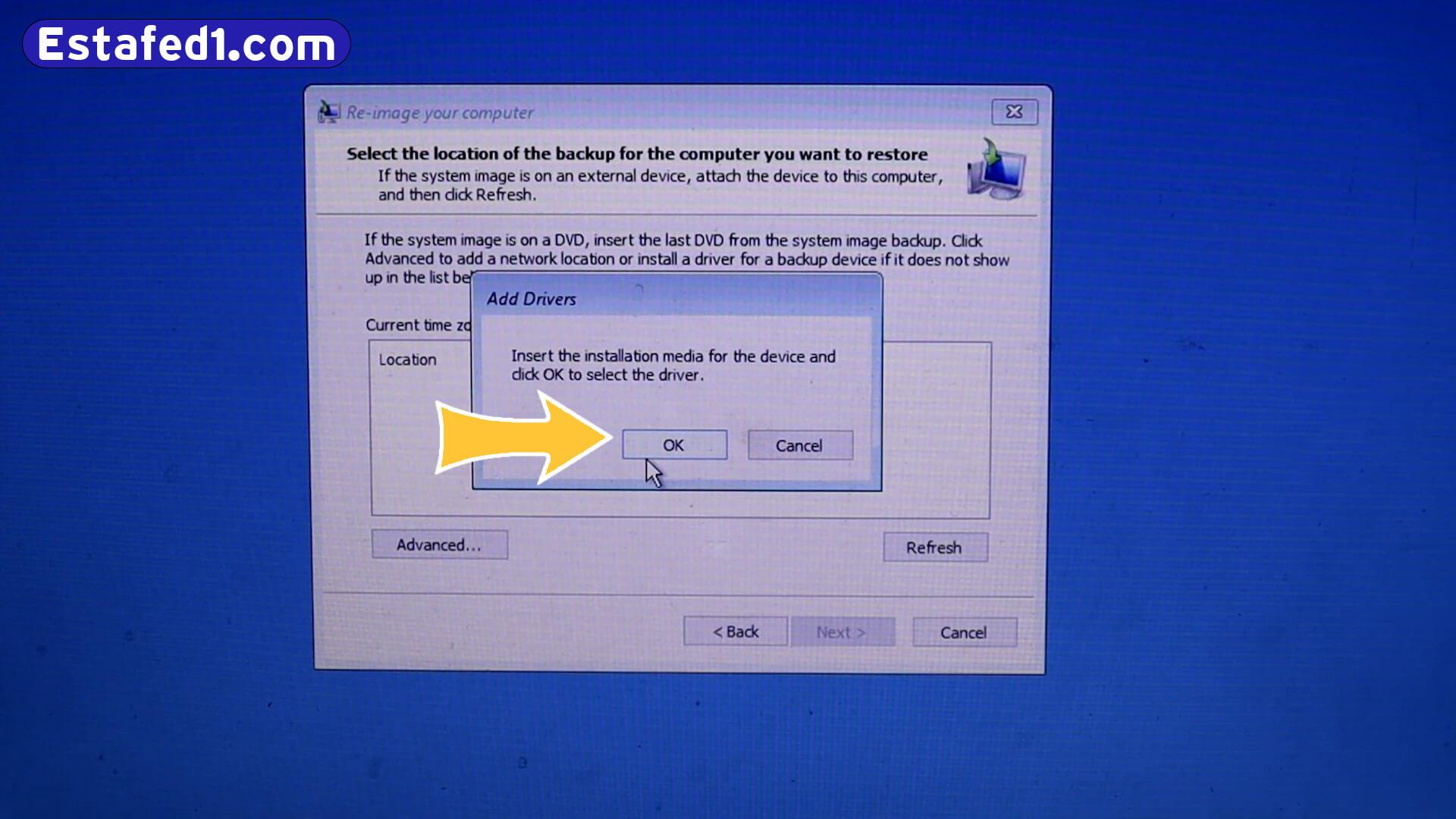 كيفية فتح اللابتوب اذا نسيت كلمة السر ويندوز 10 الخطوة 18