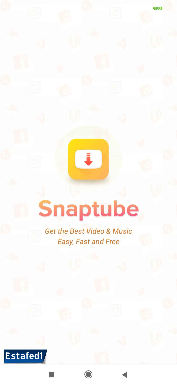 برنامج تنزيل الفيديو من اليوتيوب snaptube